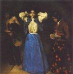 Károly Ferenczy, Gypsy. 1901