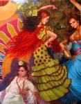 La parranda de los gitanos, Jose Espinosa Moraila, Mexico