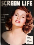 Rita Hayworth - Screen Stories 1-1954