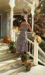 Steve Hanks - A Sense Of Belonging (watercolor)