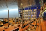 13. Delft University of Technology Library, South Holland, Netherlands. Built in 1997 the library was created by architectural firm designs «Mecanoo».