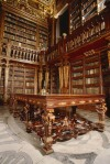 26. Zhuanina Library is located in the University of Coimbra, which was built in the 18th century during the reign of the Portuguese King João V (library named after him). (ABOUTCENTRO)