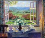 Stephen J. Darbishire. Narcissus by an Open Window