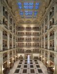 The George Peabody Library, Baltimore, Maryland. (Danielle King)