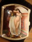 Viennese, silver enamel cigarette case, 1900