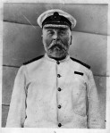Captain of the Titanic Edward John Smith, who ran the largest liner of its time during his first voyage.