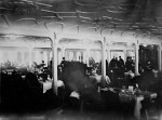 Dining room of the first class on board the Titanic in 1912. (Fr Browne SJ Collection-UIGThe Bridgeman Art Library)