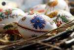 Hand-painted Easter eggs are sold at a fair in the center of Sofia, Bulgaria. (Oleg Popov  Reuters)