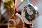 Hand-painted Easter eggs are sold at a fair in the center of Sofia, Bulgaria. (Oleg Popov  Reuters)1