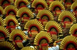 Indian soldiers during the annual parade, hosted in the Republic Day in Delhi,