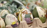 Painted Easter eggs are sold at the bazaar in the city of Innsbruck in western Austria. (© Dominic Ebenbichler  Reuters)3