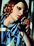 Tamara de Lempicka The Phone II - 1930 - Private collection © 1980 TAH  NYC Museum Masters International © Tamara Art Heritage NYC Museum Masters International