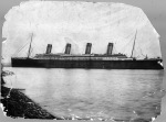 The passenger liner Titanic shortly before the departure of your first and last voyage in 1912. (New York Times Archives)