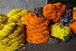 The seller said the money was sitting in a pile of calendula flowers at the wholesale market in Kolkata, Marigold flowers, or pot marigold, is widely used in India as garlands on religious holidays.