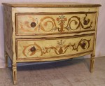 18th century French or Italian painted commode.