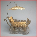 antique baby carriage late 1800's early 1900's