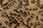 Νεκροταφείο ιρακινών αρμάτων μάχης  στην έρημο στο Κουβέιτ.