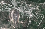 Gold-mine «Homestake Mine», Leeds, West Yorkshire, South Dakota. (© Google, GeoEye)