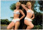 In the late 1950's blonde, German Elke Sommer