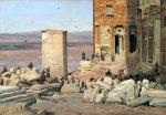 Martinus Rørbye, 1835, εργασίες στα Προπύλαια,