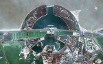 Military Theme Park «Binhai Aircraft Park» in Tianjin, China. (© Google, GeoEye, TerraMetrics)