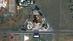 Park Praça dos Cristais in Brasilia, Brazil. (© Google, Tele Atlas, MapLink)