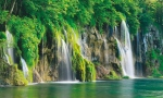 Plitvice Lakes National Park - the oldest national park in south-eastern Europe and the largest in Croatia. The park is full of beautiful green landscapes, beautiful lagoons and amazing waterfalls.