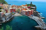 Three. Cinque Terre - part of the coast of Liguria in Italy. Terraces, built on the jagged terrain, are a popular local landmark. (Cinqueterre.a-turist.com)