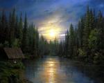 A.Ogurtsov. Full moon
