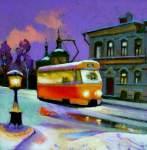 A.Schepalin. Evening Tram (2)