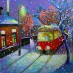 A.Schepalin. Evening Tram