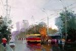 Biljana Roman. Rain