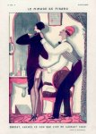 Bonnotte 1926'' Le Mirage de Figaro'' Hairdresser Risque