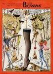 Bryans (Stockings) 1945 Salvador Dali