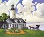 Charles Wysocki Lighthouse Keepers Daughter