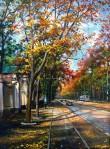 Ivan Chernov. Autumn on the French Boulevard