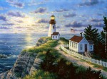 Randy Van Beek --- Cape Disappointment Lighthouse