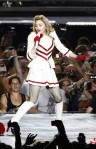 U.S. singer Madonna performs at the stadium  near Tel Aviv during his world tour  (AMIR COHEN  REUTERS)