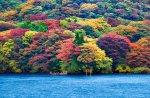 Ashi Lake, Japan by RicardoBevilaqua