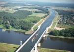 Η μεγαλύτερη γέφυρα του νερού στον κόσμο που βρίσκεται στη γερμανική πόλη του Μαγδεμβούργου. Το μήκος του - 918 μέτρα.
