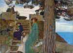 George_Spencer_Watson__1869-1934___A_picnic_at_Portofino_1911