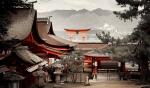 Itsukushima Shrine on Miyajima, near Hiroshima, Japan