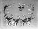 1935-Happy New Year, Girls on the Beach