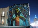 Artwork by El Mac (background by Retna)1-Background painted by Retna. Salt Lake City, 2009
