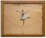 banksy-ballerina-on-back-of-painting-hanging-string