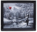 banksy-new-girl-red-balloon-landscape-painting