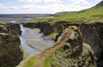 . Fjaðrárgljúfur, Iceland.