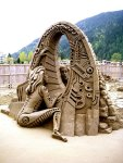 ful sculpture of British Columbia - Dragon. (Photo by Amazin Walter)