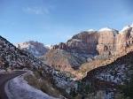 Zion Canyon, Utah, USA.