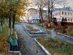 A.Plotnikov. Autumn in the city